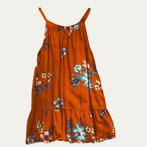 Girls old navy flowy floral tank top